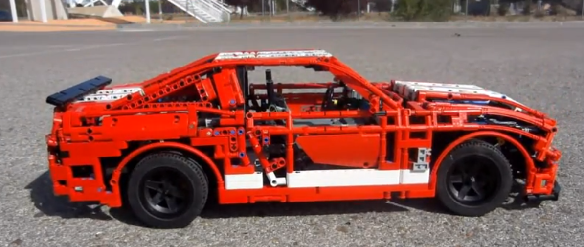 This Epic 1:8 Shelby GT 500 Is What Lego Was Invented For
