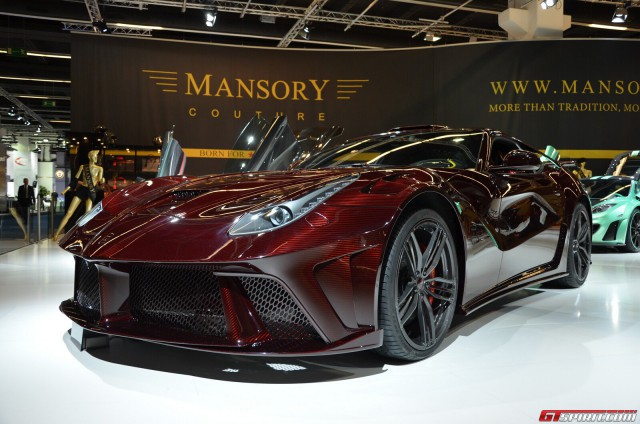 Is This Widebody Ferrari F12 The World S Most Insecure