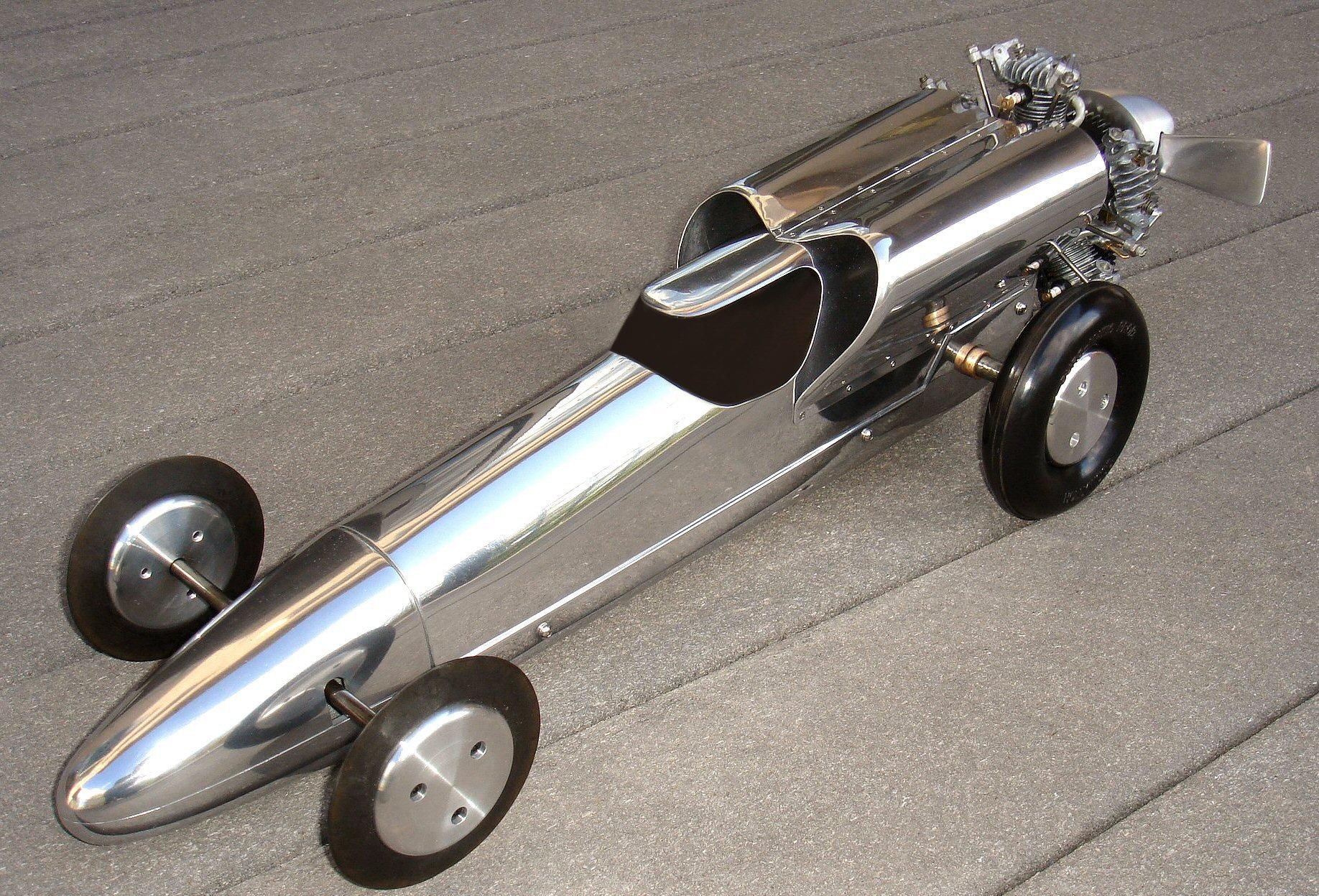 Tether Car Racing World Record