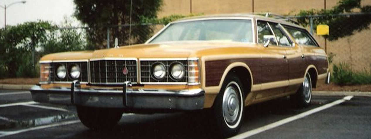 this jacked up wood panel 1973 ford country squire is weird enough to want to own. Black Bedroom Furniture Sets. Home Design Ideas