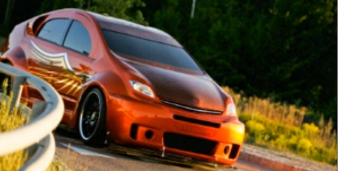 This Riced Out Prius Is Terrifically Repulsive on bmw fast cars