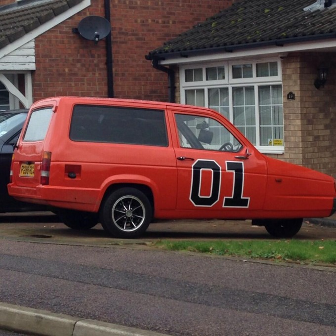 This pathetic general lee reliant robin is the uk 39 s best for Best car paint shops near me