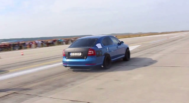 This Twin Engined Octavia Is The World S Most Extreme Skoda