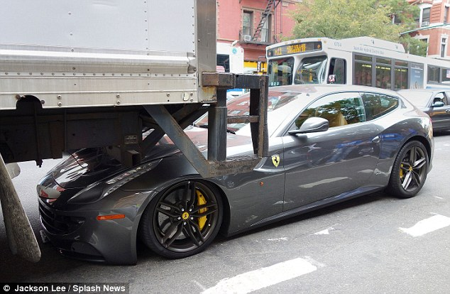 The Best Way To Stance A Ferrari Ff Is By Backing A Huge