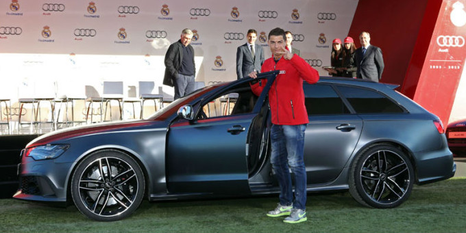 Real Madrid Footballers Get A Free Audi As An Early