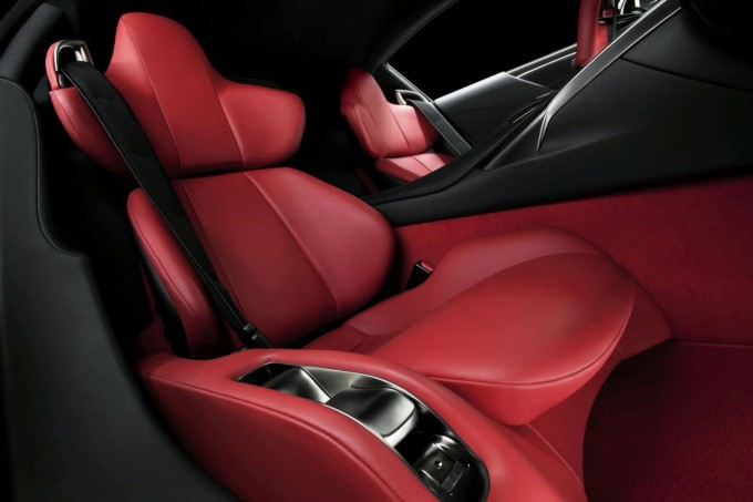 2017 Lexus Lfa Seats View