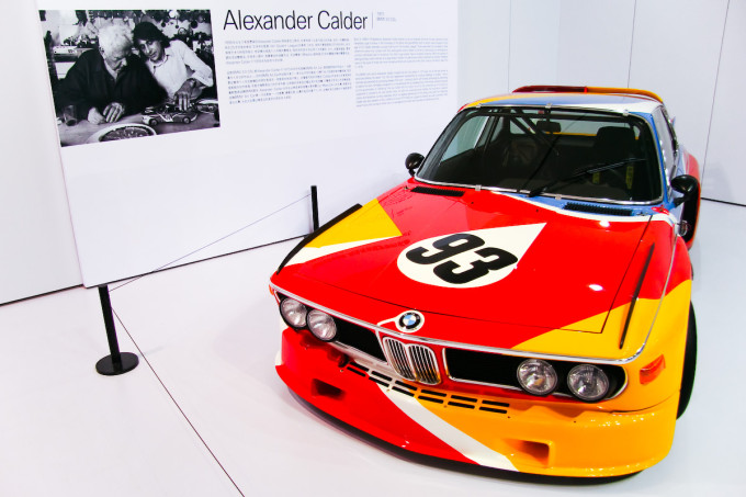 This racing CSL became the first BMW 'Art Car' in 1975