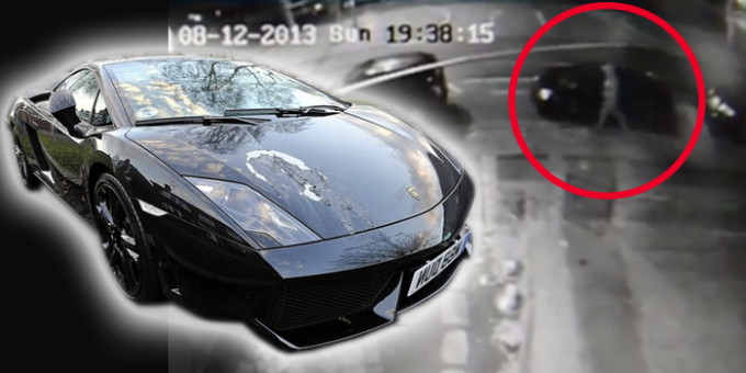This Cctv Footage Shows That Lamborghini Envy Is An Ugly Thing