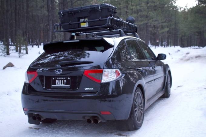 Subaru Impreza WRX Snow 3