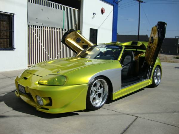 Sacrilege Sunday The Ultimate Riced Supra Goes Up For