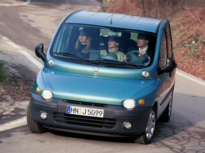 the fiat multipla is officially the ugliest car ever made. Black Bedroom Furniture Sets. Home Design Ideas