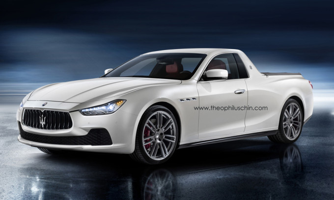 a maserati ute is the best car youll never need