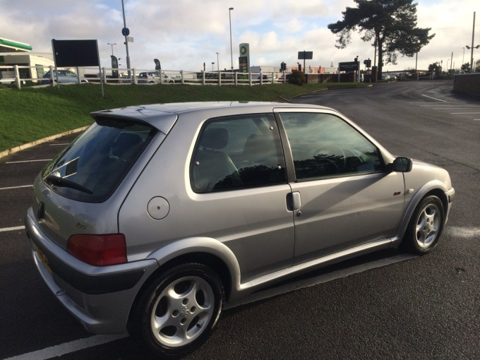 Classifieds 39 car of the day peppy peugeot 106 gti