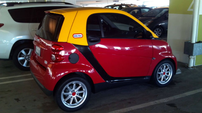 Smart Cozy coupe