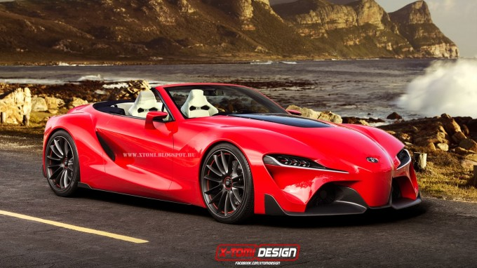 Toyota Supra Concept 2017 >> Wait Until You See The Stunning Toyota Supra Concept With ...