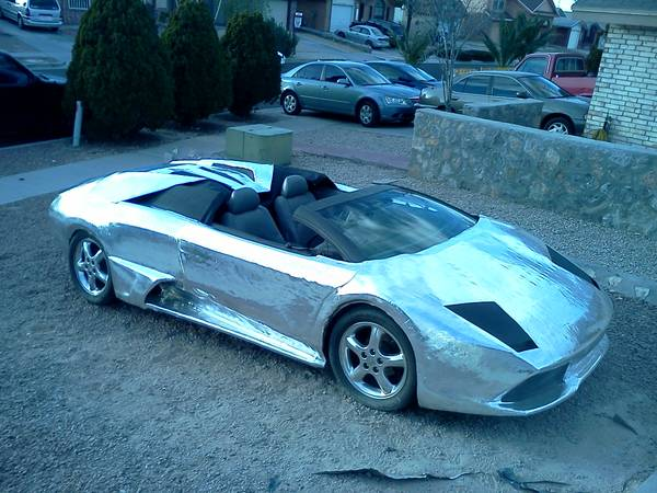 Is This Chrome Wrapped Lamborghini The Worst Replica