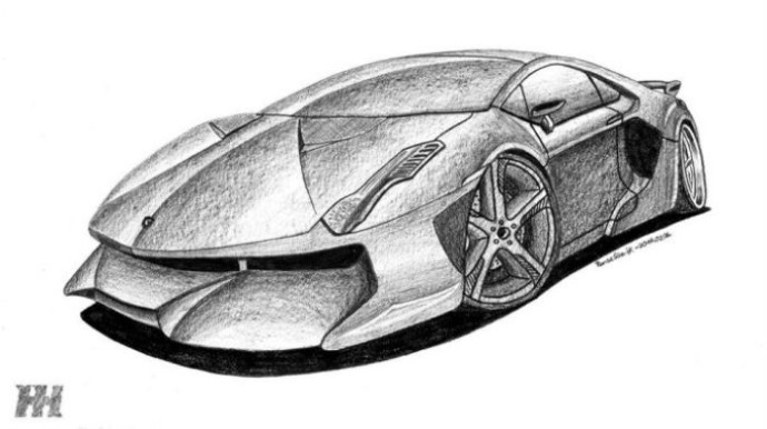 We Asked You To Hand Draw A Lamborghini Concept Here Are The Top 13