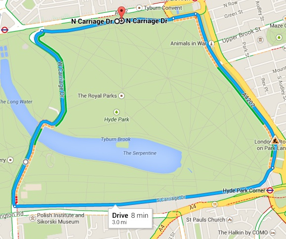 What\'s Your Ultimate Google Maps / F1 Mashup Street Circuit?