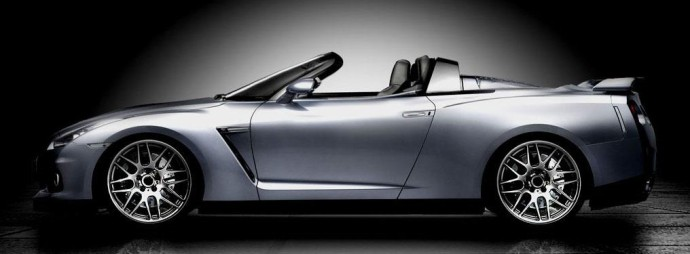 Nissan GT-R Convertible 5