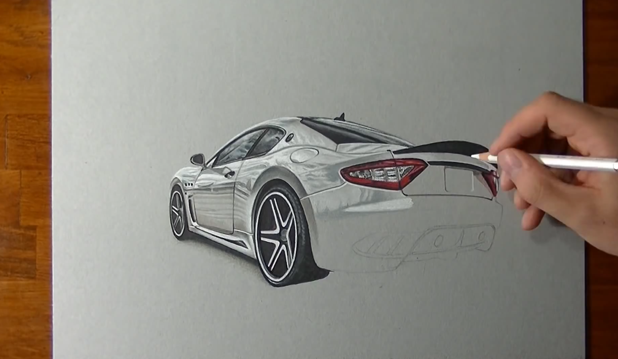 This Artist S Incredible Supercar Drawings Are Sexier Than The