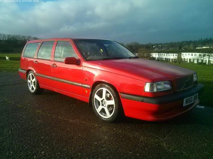 This 240bhp Volvo 850R Is Our Weekend Want