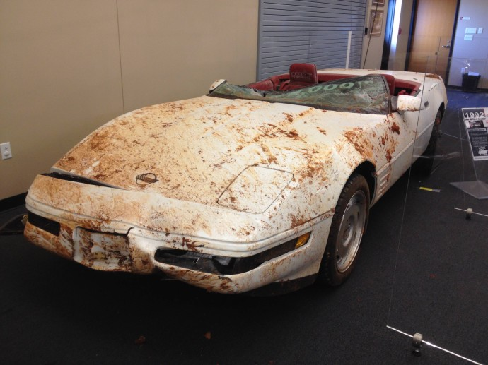 Sinkhole Corvettes Recovered Prepare For Tears Chevy Fanboys