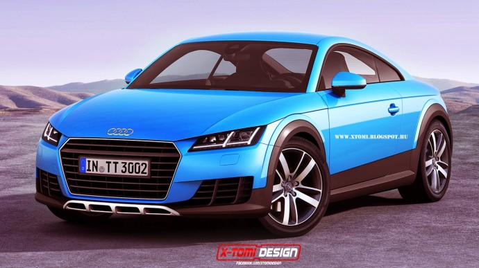 Brace Yourselves An Audi Tt Saloon Could Be On The Way