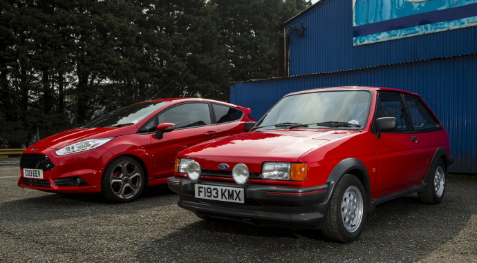 25 years separate the fiesta xr2 and modern st but it 39 s. Black Bedroom Furniture Sets. Home Design Ideas