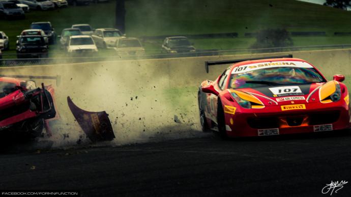 These Ferrari 458 Crash Pics Show The Beauty Of Destruction