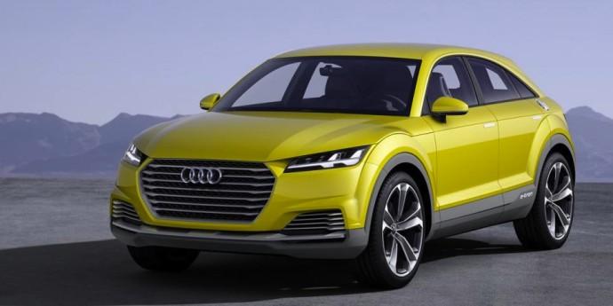Audi TT offroad 2