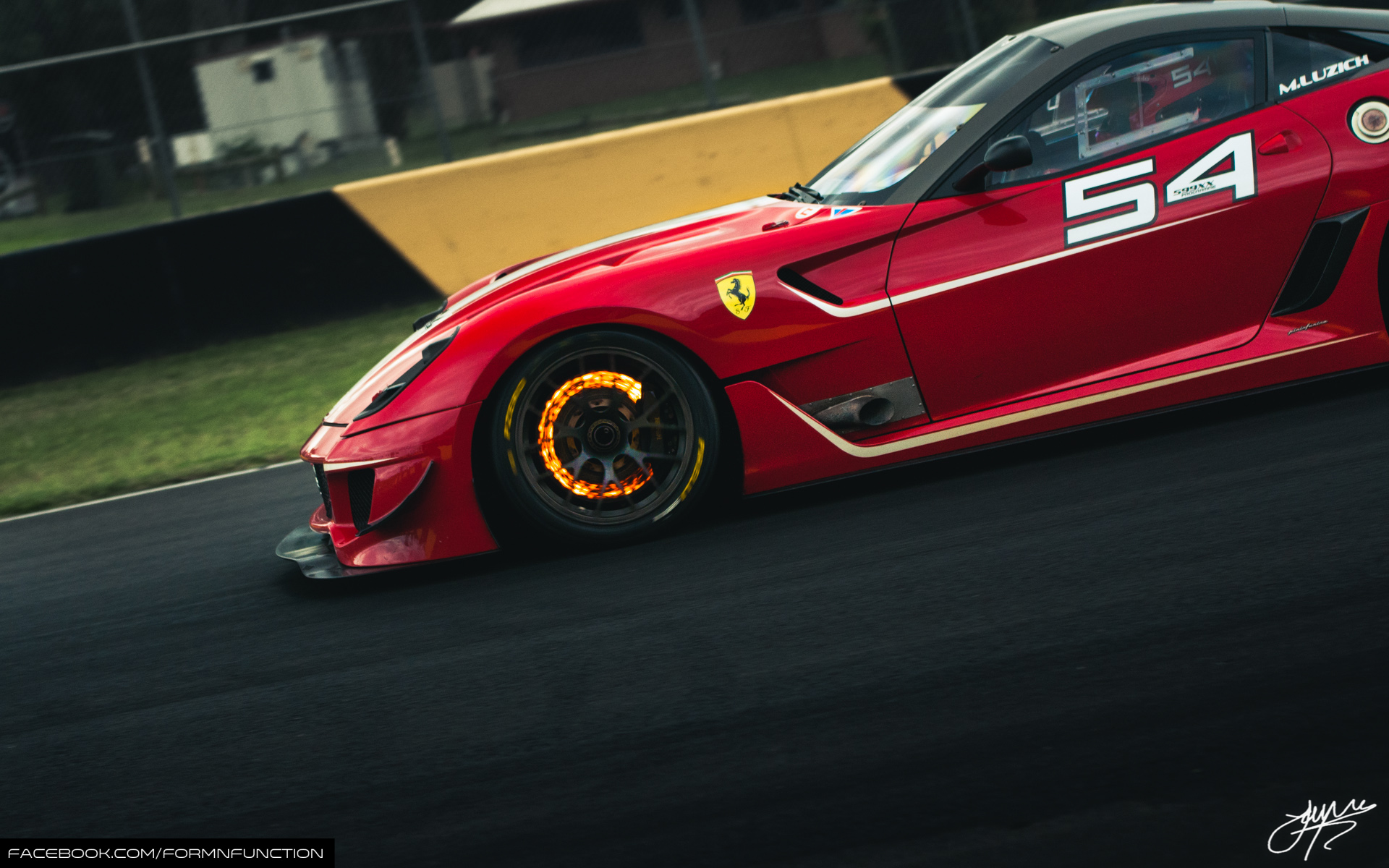 This Red Hot Ferrari 599xx Evo Is Your New Desktop Wallpaper