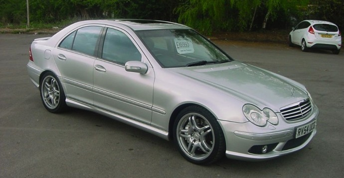 Buy A Mercedes C55 Amg And Get V8 Kicks For Vw Polo Money on mercedes benz c450