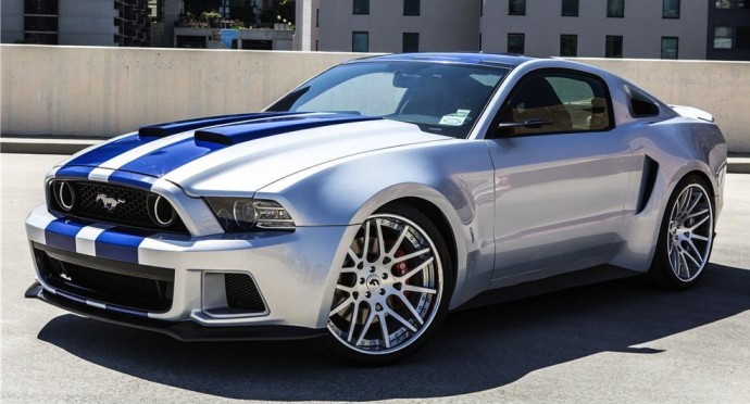 300k bagged one lucky car fan the need for speed movie 39 stang. Black Bedroom Furniture Sets. Home Design Ideas