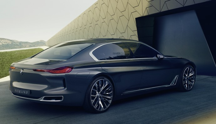 The New 7 Series Concept Is Packed Full Of Clever Tech And Neat Styling Touches That We Could Be Seeing On BMWs Next Flagship Luxury Wafter