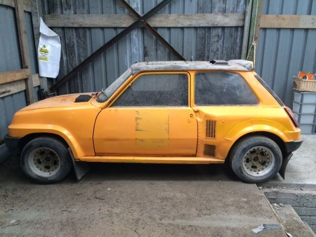 Renault 5 turbo for sale