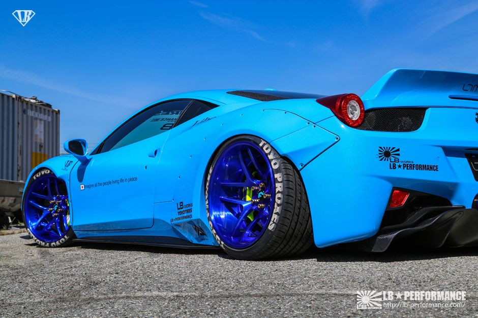 Striking Polestar Blue Ferrari 458 Hot Or Not