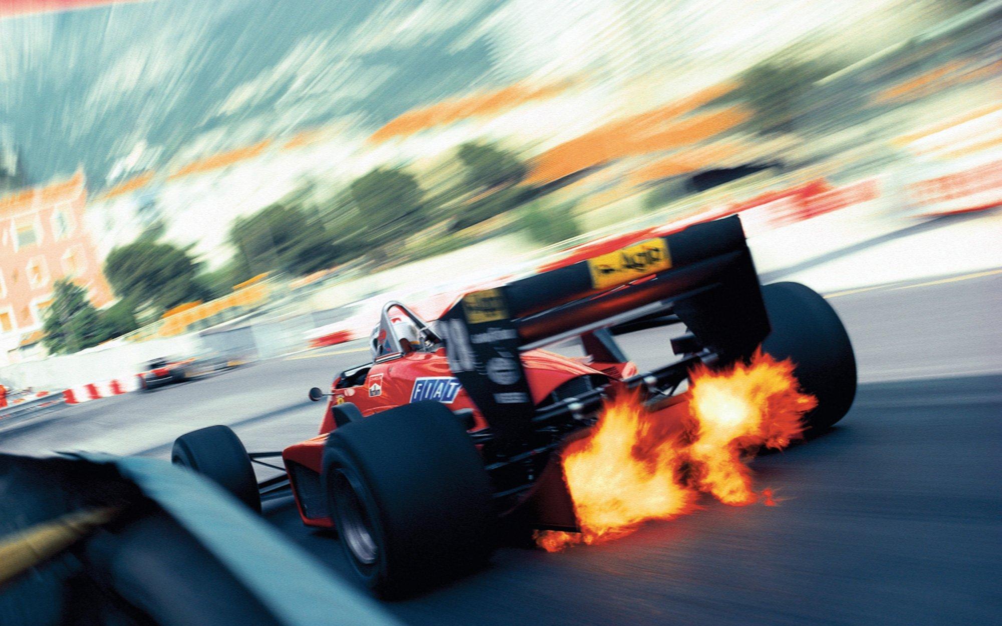 18+ Ferrari Flames Wallpaper  Pics