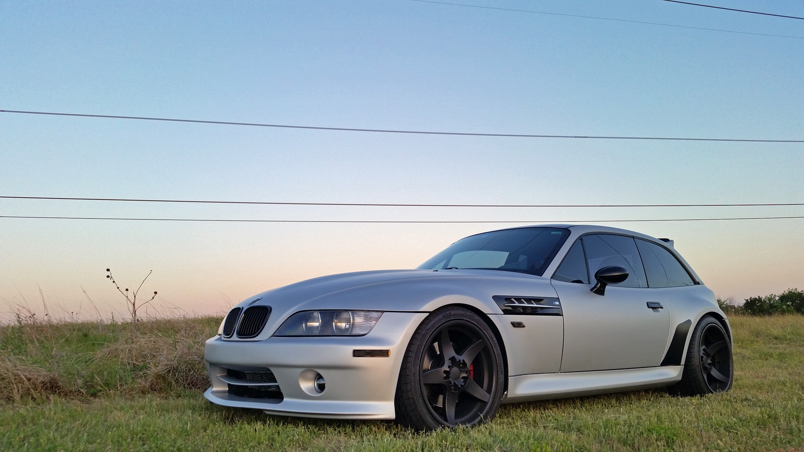 A Satin Wrap And A Bit Of Stance Makes This Z3m Coupe One