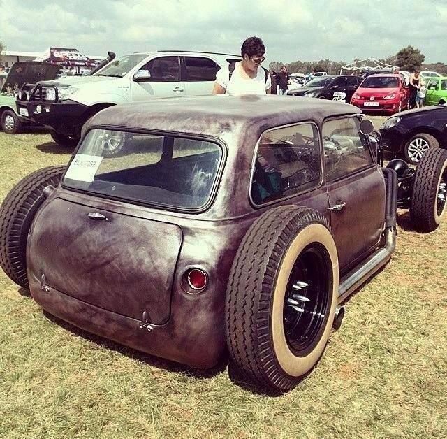 Rat Rod Classic Mini Hot Or Not