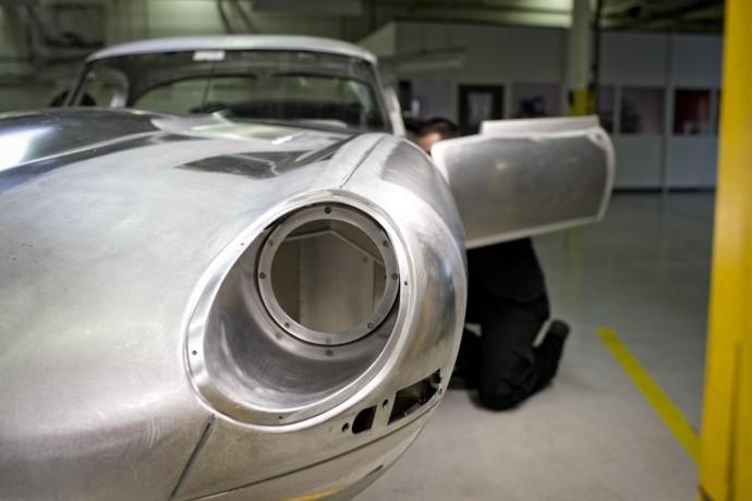 Jaguar lightweight E type 2