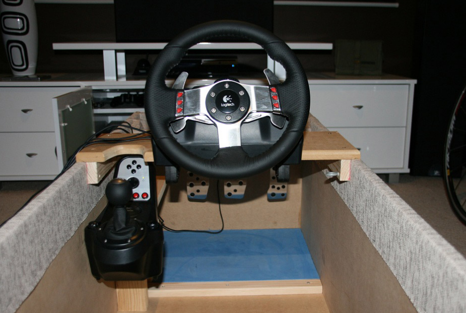 How to build your very own kick ass racing simulator for Build your own house simulator
