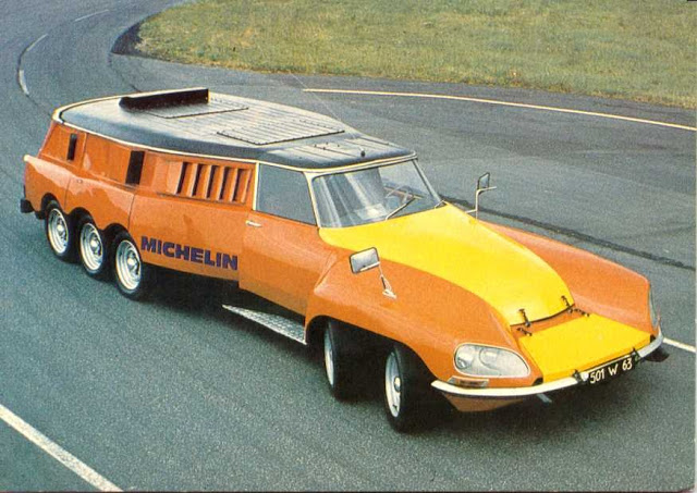 The Citroen Centipede Is A 10 Wheeled Tyre Testing Monster